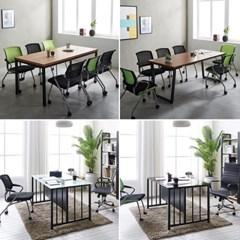 인테리어 회의용 테이블 사무실 4인 6인용 미팅테이블_(3054941)