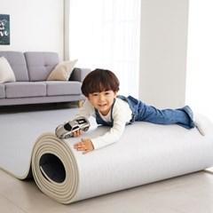 말랑말랑 셀프시공 PVC 롤매트 패브릭(직물패턴)