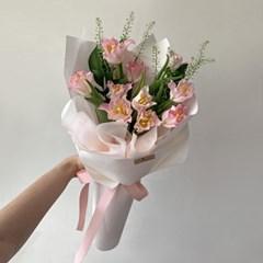 [생화] 별튤립(10송이) 핑크 꽃다발