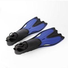 알오마 고탄력 오리발(블루)(230-235mm) / 수영오리발