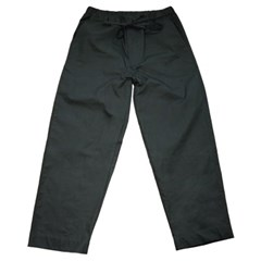 Comfy Wide Banding Pants_Charcoal