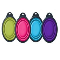 덱사스 접이식 휴대용 컵 (색상랜덤) x 1개 (pt)