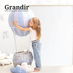 [꼬메모이] 그랑디르 더블/유아 자석 칠판 화이트
