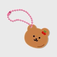 Dot cherry bear(브라운 키링)_(1598215)