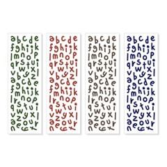 [에뚜알의 세삐공방]알파벳(소) 씰스티커 - 다크