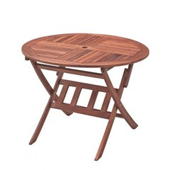 케이 원형 접이식 테이블 1000