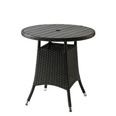 써니 인조라탄 원형 테이블