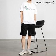 [세븐퍼센트] 어치브 반팔+슈프림 체커 반바지 SET_(893688)