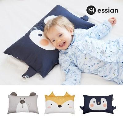 에시앙 사계절 유아애착 동물베개 커버 (디자인선택)_(951362)
