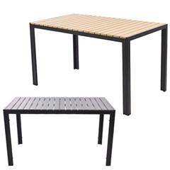 베이직 수지목 사각 테이블 1300