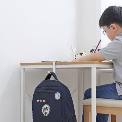 공부방 학원 사무실 카페 2단가방걸이 헤드폰모자행거_(1210676)