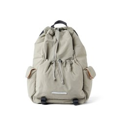 STRING PADDED BACKPACK 751 LIGHT KHAKI_(786353)
