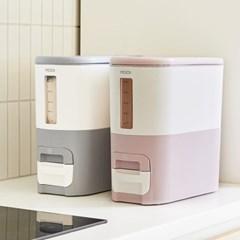 [리본제이]무이(MOOI) 디자인 계량 쌀통 5kg