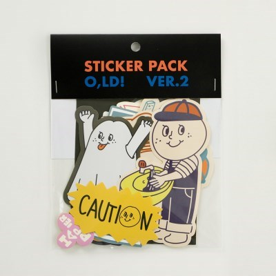 O,LD! Sticker pack_02