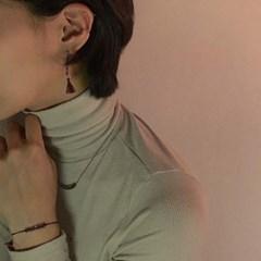 [CCMADE] 핸드메이드 눈꽃 귀걸이+팔찌+목걸이 SET