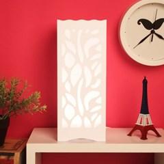 화이트 감성 LED USB스탠드/집들이선물용 LED스탠드