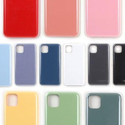 아이폰11 PRO MAX XS 오리지널 컬러 실리콘케이스_(1875523)