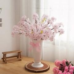 벚꽃 성묘 화분set 65cmR 조화 화병 산소꽃 FAGAFT_(1822206)