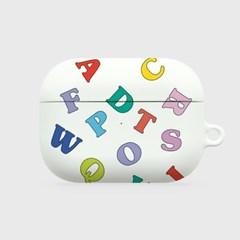 알파벳 에어팟 프로 하드케이스