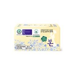 [1+1] 유기농본 순면 생리대 중형30P