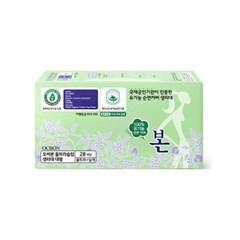 [1+1] 유기농본 순면 생리대 대형28P