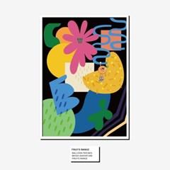 벌룬프렌즈 후르츠 포스터 - A3,A2