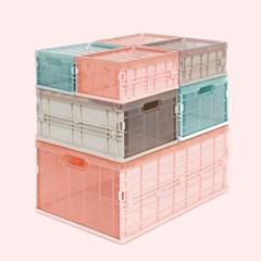 다용도 컬러 블록 폴딩박스 1+1 / 세트