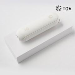 베어핏 3in1 밀크베어(화이트) 휴대용선풍기. 보조배터리. 손전등