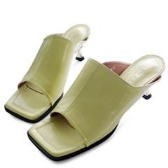 kami et muse Gold heel toe open mule slippers_KM20s191