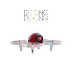 둥둥 드론(레드)-화려한 LED. 라운딩디자인. 플렉시블 프레임