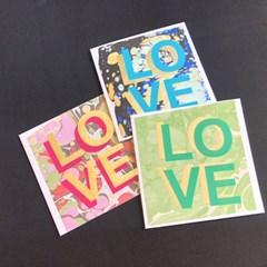 [핸드메이드카드] 에브루 LOVE