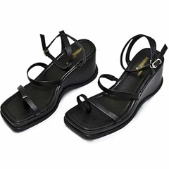 kami et muse Flip flop strap wedge heel sandals_KM20s194