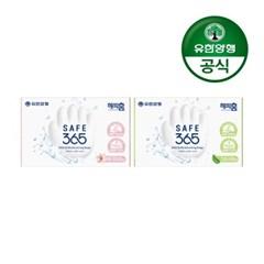 [유한양행]해피홈 SAFE365 비누 핑크포레향+그린샤워향_(2406702)