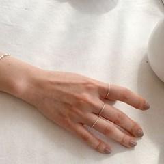 dadiva NO.160 daily layerd silver ring 3ea