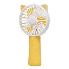 [피터젠슨] 큐티 LED 핸디 선풍기 옐로우 PPM73LE09M_YE_(1578452)