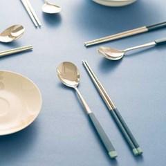 PLAITO bonita Two tone Cutlery 수저세트 4color