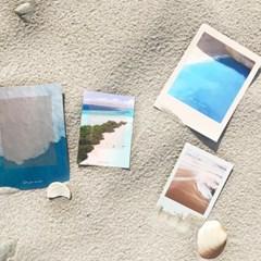 4종)감성 바다 엽서