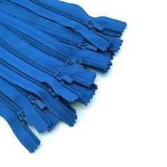 일반 23cm 칼라지퍼 (블루) 컬러지퍼 일반지퍼
