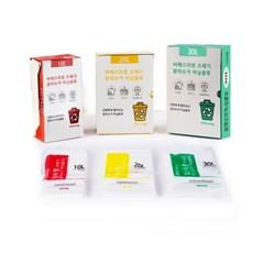 씨에스리빙 가정용 종량제봉투 10L 20L 30L (20매,100매)