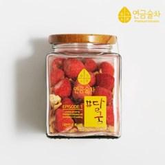 연금술차 사과딸기 담금주 키트 500ml