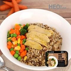 간편한 허닭 슬림도시락 현미칠곡우엉밥 220g 1팩