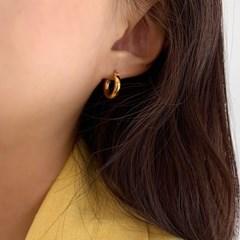 dadiva NO.203 doughnut silver earring