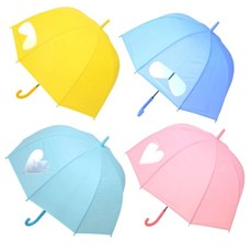 TW 파스텔 EVA 비닐우산 돔형 장우산