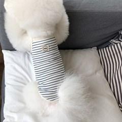 [T.어반 스트라이프 민소매]Urvan stripe sleeveless T