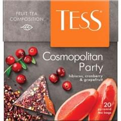 TESS 코스모폴리탄 파티 피라미드 20티백