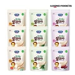 [일동후디스] 아기밀냠냠 쌀과자 떡뻥3종혼합x3 9개_(701765981)