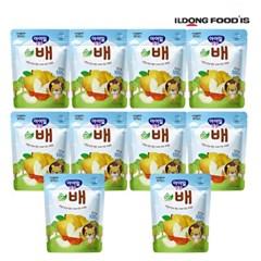 [일동후디스] 아기밀냠냠 과일칩 순배 x10개_(701765976)