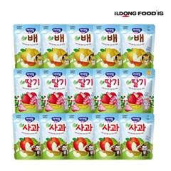 [일동후디스] 아기밀냠냠 과일칩3종혼합x5 15개_(701765971)