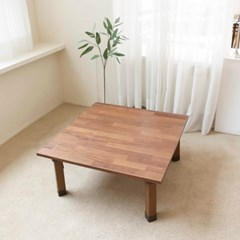 접이식 미니 좌식 다용도테이블 원목 간이 좌탁 찻상 보조 티테이블