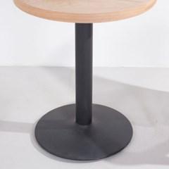 3인치 프레임 블랙 티테이블용 카페 식탁 업소_(1826315)